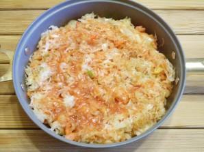 Овощное рагу с капустой - фото шаг 7