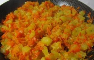 Кабачковая икра с морковью и томатной пастой - фото шаг 4