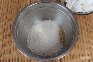Сырники с кокосом - фото шаг 3