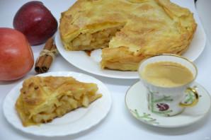 """Яблочный пирог """"Вуаль невесты"""" - фото шаг 20"""