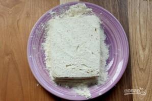 Жареный сэндвич с моцареллой - фото шаг 3