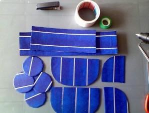 Коляска из конфет - фото шаг 1