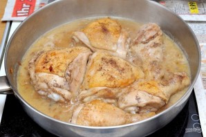 Курица с черносливом по-мароккански - фото шаг 7