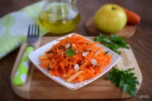 Салат из моркови и яблока - фото шаг 5