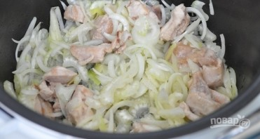 Суп из черной чечевицы с индейкой - фото шаг 4