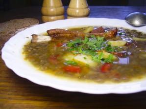 Чечевично-гороховый суп - фото шаг 6