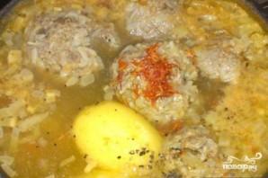 """Суп """"Кюфта"""" - фото шаг 12"""