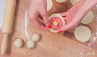 Пицца-шарики во фритюре - фото шаг 4