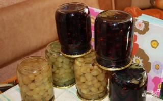Консервированный виноград - фото шаг 7