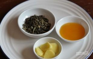 Чай с имбирем и лимоном - фото шаг 3