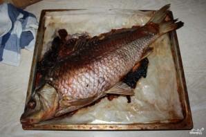 Рыба, запеченная с квашеной капустой - фото шаг 8