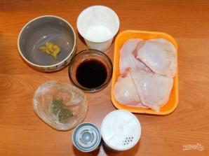 Куриные бедра в соево-горчичном маринаде - фото шаг 1