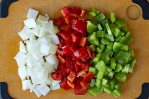 Курица с овощами в кисло-сладком соусе - фото шаг 1