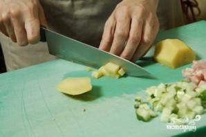 Окрошка с колбасой - фото шаг 4