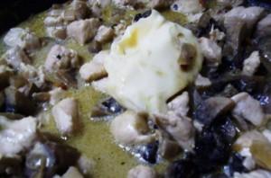 Курник с курицей и грибами   - фото шаг 4