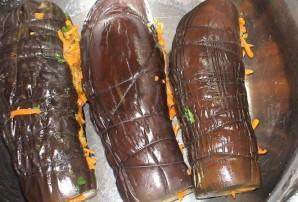 Баклажаны соленые с морковкой - фото шаг 3