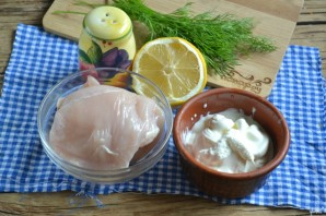 Куриная грудка в соусе на сковороде - фото шаг 1