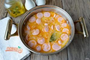 Суп с квашеной капустой и сосисками - фото шаг 8