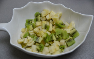 Постный фруктовый салат - фото шаг 5