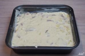 Пирог с курицей и картофелем - фото шаг 8