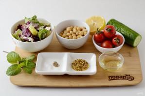 Салат с нутом - фото шаг 1