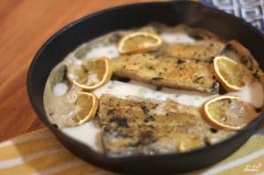 Рыба в сметанном соусе в духовке - фото шаг 7