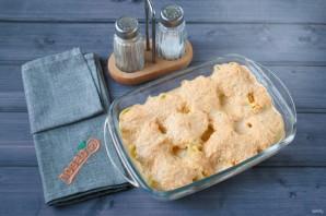 Ракушки, запеченные с тыквой и сыром - фото шаг 6
