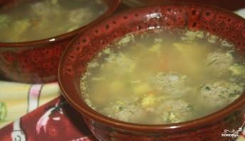 Суп с яйцом и рисом - фото шаг 5