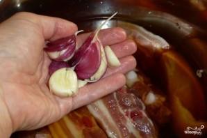 Свиные ребрышки в соевом соусе - фото шаг 3