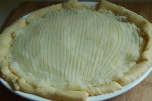 Заливной пирог с мясом и картошкой - фото шаг 3