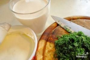 Минтай под сливочным соусом в духовке - фото шаг 3