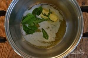 Томатный суп в хлебной лодке - фото шаг 4