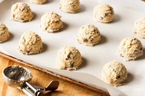 Кокосовое печенье с шоколадом - фото шаг 6
