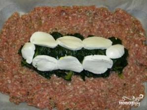 Мясной рулет с вареными яйцами - фото шаг 6