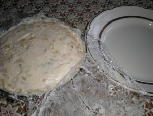"Салат ""Грибное лукошко"" - фото шаг 8"