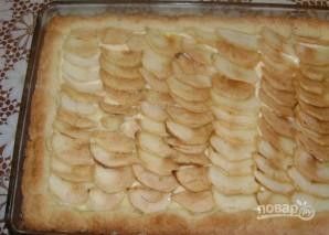 Пирог c воздушным творогом и яблоками - фото шаг 7