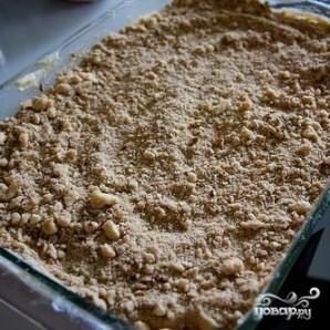 Пирог с корицей и ореховой посыпкой - фото шаг 7
