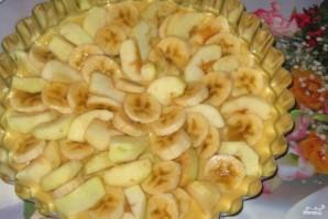 Яблочно-банановый пирог - фото шаг 4