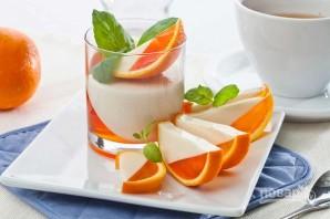 Апельсиновый десерт с желатином - фото шаг 6