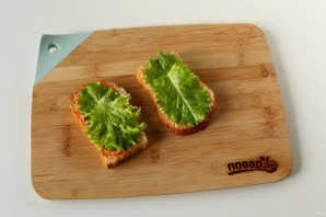 Сэндвич с котлетой - фото шаг 5