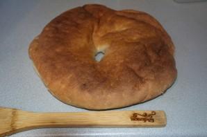 Запеченный лааваш с сыром и зеленью - фото шаг 1