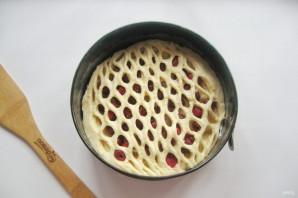 Дрожжевой пирог с малиной - фото шаг 10