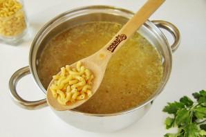 Картофельный суп с макаронами - фото шаг 4