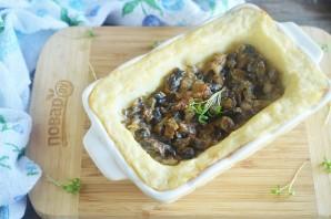 Запеканка с грибами и картофельным пюре - фото шаг 10