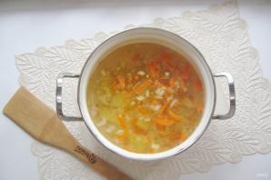 Рисовый суп с колбасой - фото шаг 5