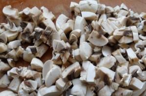 Рулетики из лаваша с грибами - фото шаг 1