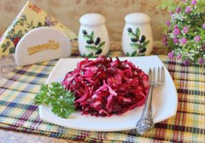 Салат из свеклы и красной рыбы - фото шаг 8