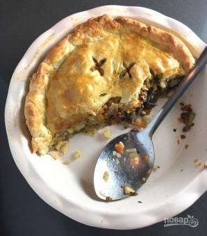 Пирог с мясом (вкусный) - фото шаг 4