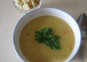 Гороховый суп на косточке - фото шаг 6