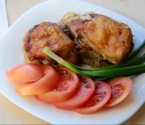 Курица с луком в духовке - фото шаг 3